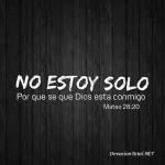 Dios promete acompañarnos siempre