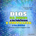 No hay nadie como tu Dios para ayudar al débil y liberarlo del poderoso