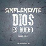 El amor de Dios para con nosotros es inmenso